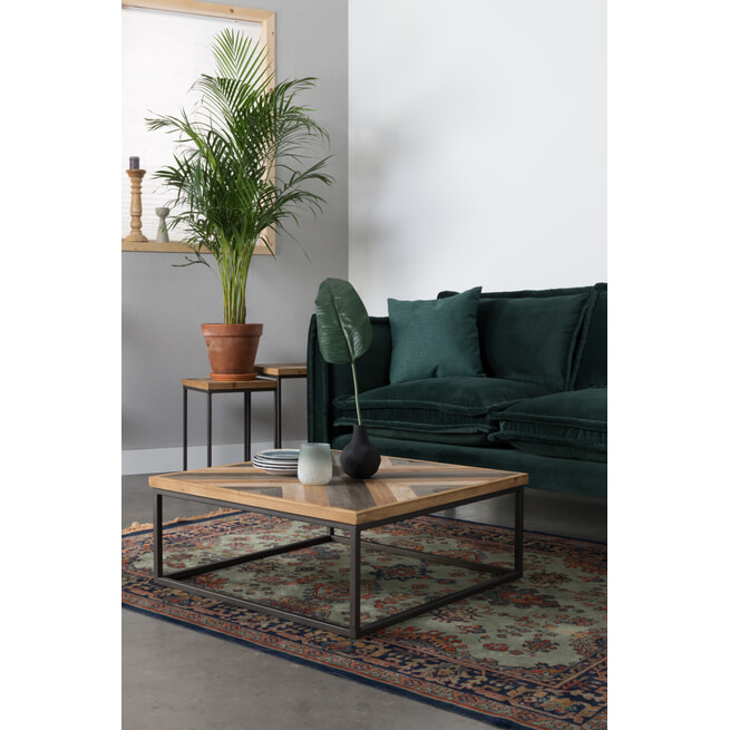 ZILT Salontafel 'Lendy' 80 x 80cm
