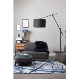 ZILT Vloerlamp 'Frederick', kleur Zwart